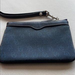 DOONEY & BOURKE mini black wallet or wristlet